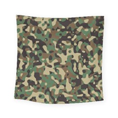Army Camouflage Square Tapestry (small) by Mariart