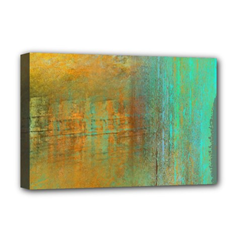 The Waterfall Deluxe Canvas 18  X 12   by digitaldivadesigns