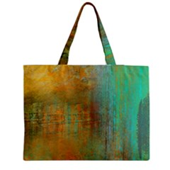 The Waterfall Medium Zipper Tote Bag by digitaldivadesigns