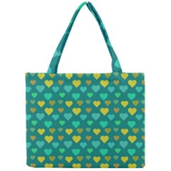 Hearts Seamless Pattern Background Mini Tote Bag by Nexatart