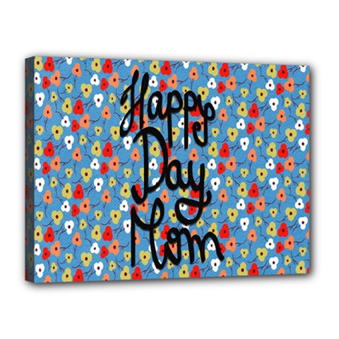Happy Mothers Day Celebration Canvas 16  X 12  by Nexatart