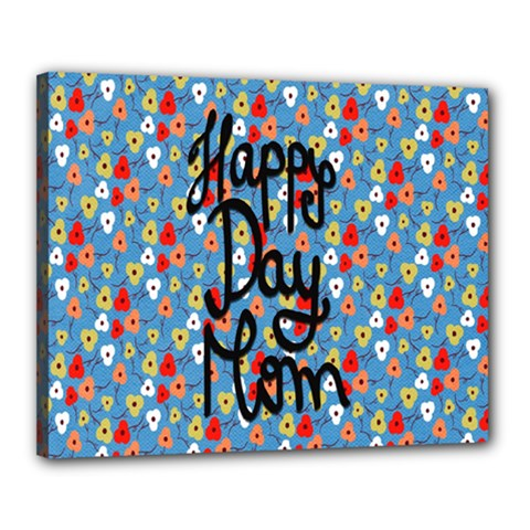 Happy Mothers Day Celebration Canvas 20  X 16