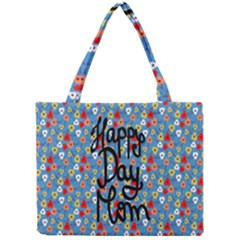 Happy Mothers Day Celebration Mini Tote Bag by Nexatart