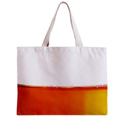 The Wine Bubbles Background Zipper Mini Tote Bag by Nexatart