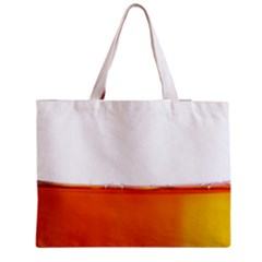 The Wine Bubbles Background Medium Zipper Tote Bag by Nexatart