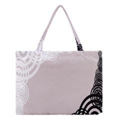 Circles Background Medium Tote Bag by Nexatart