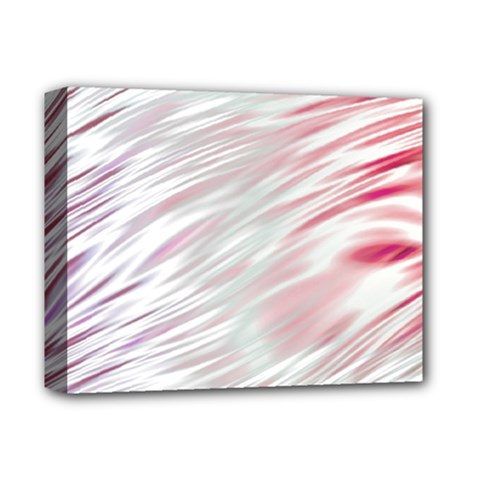 Fluorescent Flames Background With Special Light Effects Deluxe Canvas 14  X 11  by Nexatart