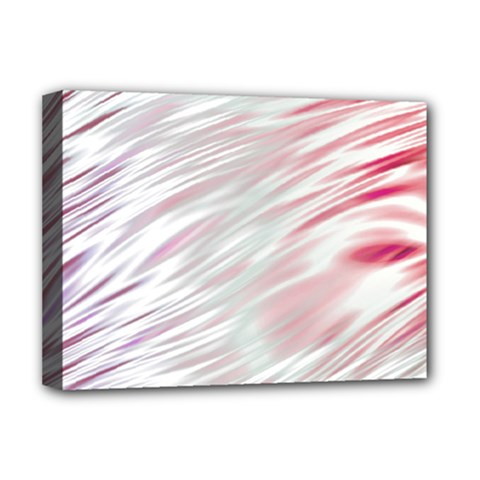 Fluorescent Flames Background With Special Light Effects Deluxe Canvas 16  X 12   by Nexatart