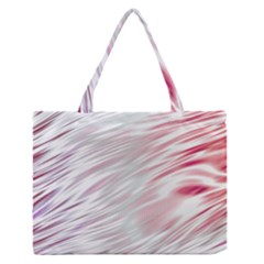 Fluorescent Flames Background With Special Light Effects Medium Zipper Tote Bag