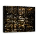 Wood Texture Dark Background Pattern Canvas 14  x 11  View1