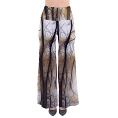 Fall Forest Artistic Background Pants by Nexatart