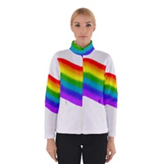 Watercolour Rainbow Colours Winterwear by Nexatart
