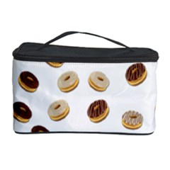 Donuts Pattern Cosmetic Storage Case by Valentinaart