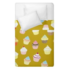 Cupcakes Pattern Duvet Cover Double Side (single Size)