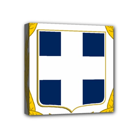 Greece National Emblem  Mini Canvas 4  X 4  by abbeyz71