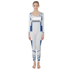 Greece National Emblem  Long Sleeve Catsuit by abbeyz71