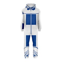 Greece National Emblem  Hooded Jumpsuit (kids) by abbeyz71