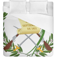 National Emblem Of Guatemala  Duvet Cover (king Size) by abbeyz71