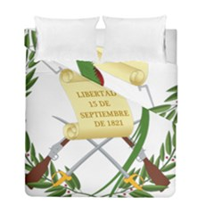 National Emblem Of Guatemala  Duvet Cover Double Side (full/ Double Size) by abbeyz71