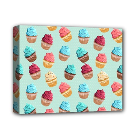Cup Cakes Party Deluxe Canvas 14  X 11  by tarastyle