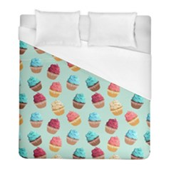 Cup Cakes Party Duvet Cover (full/ Double Size)