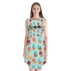 Cup Cakes Party Sleeveless Chiffon Dress