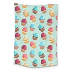 Cup Cakes Party Large Tapestry