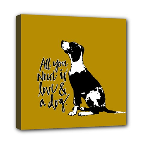 Dog Person Mini Canvas 8  X 8  by Valentinaart