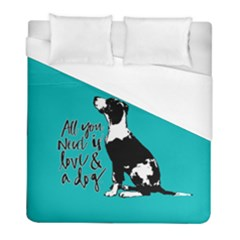 Dog Person Duvet Cover (full/ Double Size)
