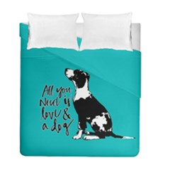 Dog Person Duvet Cover Double Side (full/ Double Size)