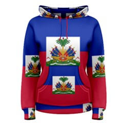 Flag Of Haiti  Women s Pullover Hoodie by abbeyz71