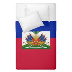 Flag Of Haiti  Duvet Cover Double Side (single Size) by abbeyz71