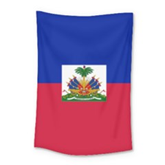 Flag Of Haiti  Small Tapestry by abbeyz71