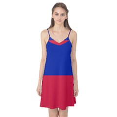 Civil Flag Of Haiti (without Coat Of Arms) Camis Nightgown by abbeyz71