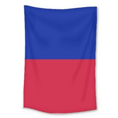 Civil Flag Of Haiti (without Coat Of Arms) Large Tapestry by abbeyz71