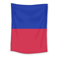 Civil Flag Of Haiti (without Coat Of Arms) Medium Tapestry by abbeyz71