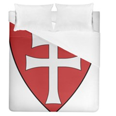 Coat Of Arms Of Apostolic Kingdom Of Hungary, 1172 1196 Duvet Cover (queen Size) by abbeyz71