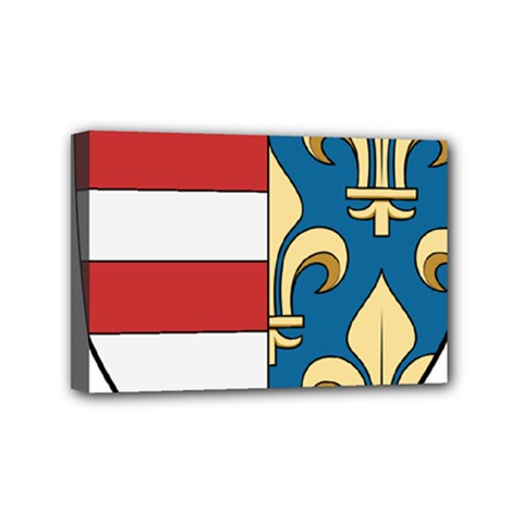Angevins Dynasty Of Hungary Coat Of Arms Mini Canvas 6  X 4  by abbeyz71