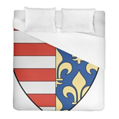 Angevins Dynasty Of Hungary Coat Of Arms Duvet Cover (full/ Double Size) by abbeyz71