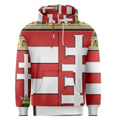 Medieval Coat Of Arms Of Hungary  Men s Pullover Hoodie by abbeyz71