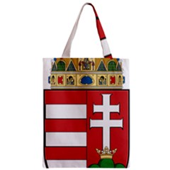 Medieval Coat Of Arms Of Hungary  Zipper Classic Tote Bag by abbeyz71
