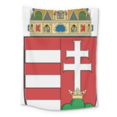 Medieval Coat Of Arms Of Hungary  Medium Tapestry by abbeyz71