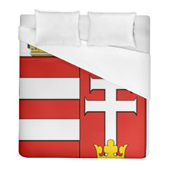 Medieval Coat Of Arms Of Hungary  Duvet Cover (full/ Double Size) by abbeyz71