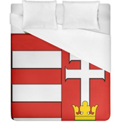 Medieval Coat Of Arms Of Hungary  Duvet Cover (california King Size) by abbeyz71