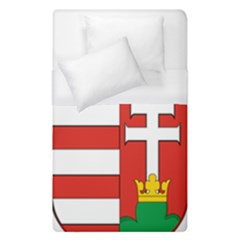 Medieval Coat Of Arms Of Hungary  Duvet Cover (single Size) by abbeyz71