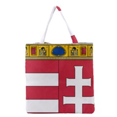 Coat Of Arms Of Hungary Grocery Tote Bag by abbeyz71