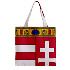 Coat Of Arms Of Hungary  Zipper Grocery Tote Bag
