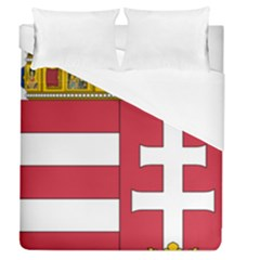 Coat Of Arms Of Hungary  Duvet Cover (queen Size) by abbeyz71