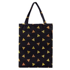Shapes Abstract Triangles Pattern Classic Tote Bag