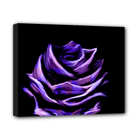 Rose Flower Design Nature Blossom Canvas 10  X 8  by Nexatart